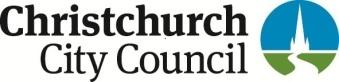 Sponsorship -MARKETING- Christchurch City Council -CCC 2 two colour cou...